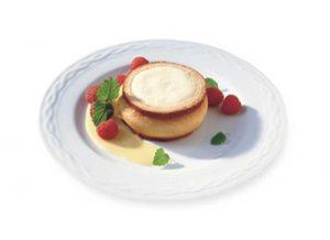 Purk Gourmet Baumkuchen-Champagner Törtchen