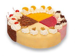"""Purk Gourmet: Gemischte Torte """"Klassik"""""""