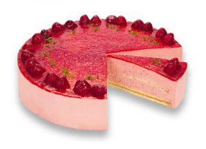 Purk Gourmet: Joghurt-Himbeer Torte