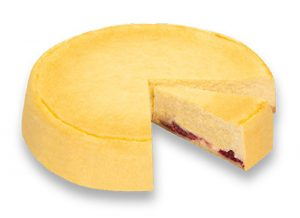 Purk Gourmet: Käse Torte, gebacken