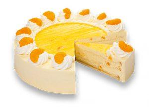 Purk Gourmet: Mandarinen-Käse-Sahne Torte