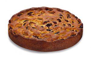Purk Gourmet: Pflaumen Torte, gebacken